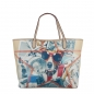 Mobile Preview: DAMEN SCHULTERTASCHE MIT HUND MUSTER SHLK138148