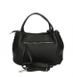 Mobile Preview: Ital. Damen Handtasche in Genarbte Rindleder SHG6883