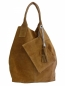 Mobile Preview: Damen Schultertaschen - Wildleder SHWL1501
